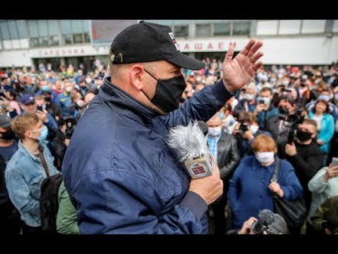 Irish Partizan (NOT BALD) Protests, rallies and arrests - the Belarus Presidential Election 2020