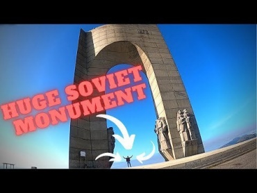 For those interested in huge Soviet monuments!