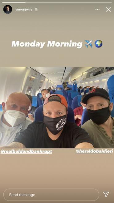 Simon, Bald and Harold are going on a trip together. Possibly a no-money challenge?